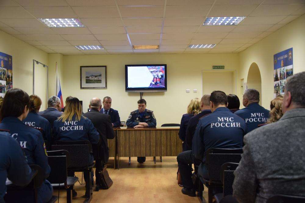 Внеочередная конференция Новгородского областного отделения ВДПО